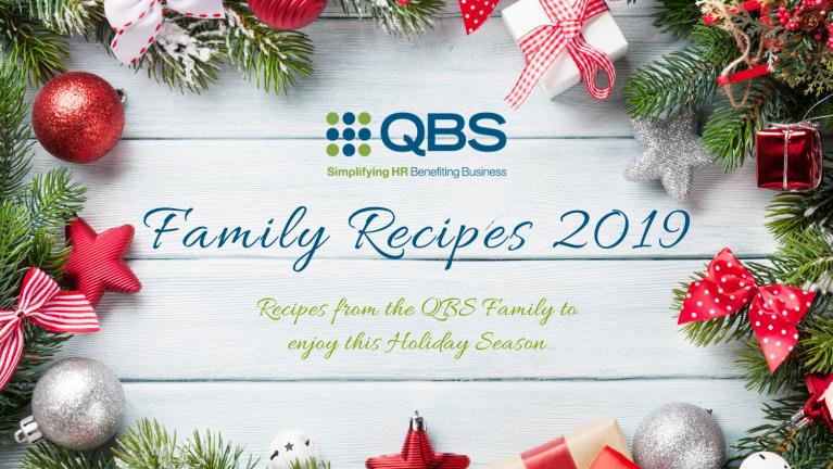 QBS Family Recipes 2019