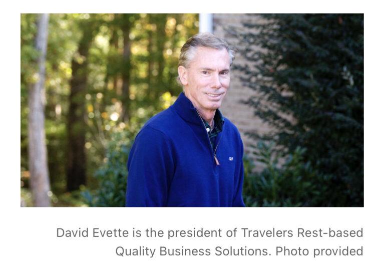 Headshot of David Evette